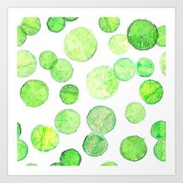 Limes Art Print