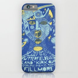 Plakat butterfield blues band mount iPhone Case