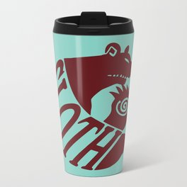 The Grizzly's Sin of Sloth Metal Travel Mug