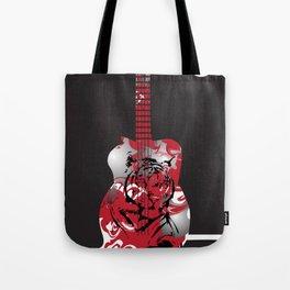 Roaring Guitar Tote Bag