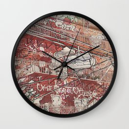 Tethered Wall Clock