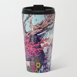 Journeying Spirit (deer) Travel Mug