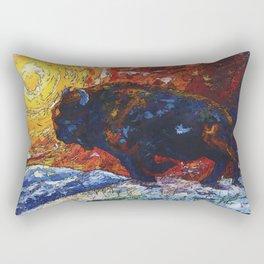 Wild the Storm Rectangular Pillow