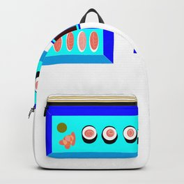 A Sushi Dinner with Tea Backpack
