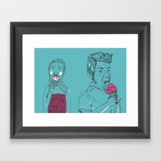 Ice Cream? Framed Art Print
