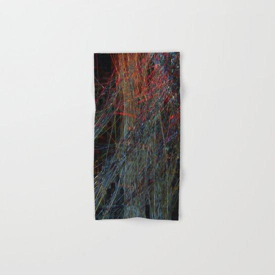 Abstract Hair Hand & Bath Towel