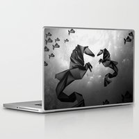 sea horse Laptop & iPad Skins featuring Sea Horse by JPeG