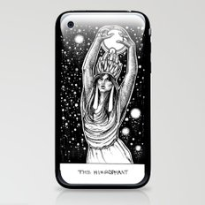 The Hierophant Tarot iPhone & iPod Skin