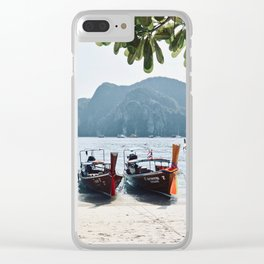 Longtail Lineup Clear iPhone Case