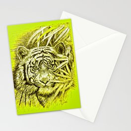 tiger - king of the jungle Stationery Cards