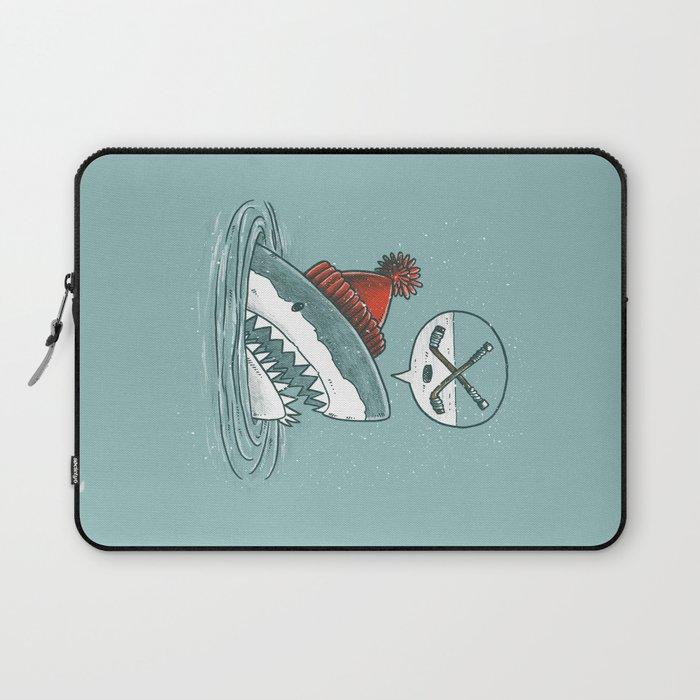 Hockey Shark Laptop Sleeve