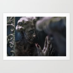 Zombie Monroe Art Print