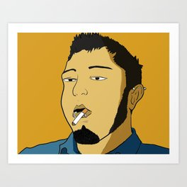 Stoner Art Print