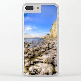 Birling Gap Seven Sisters Clear iPhone Case