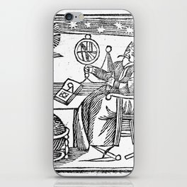 An Astrologer at his desk iPhone Skin