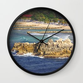 Anticipation of a Fun Day in Haiti Wall Clock