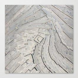 Wooden Swirl Canvas Print