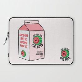 #girlboss juice Laptop Sleeve