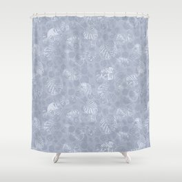 feuilleHiver Shower Curtain