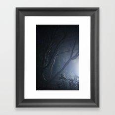 forest mystery Framed Art Print