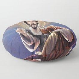 Saint Keanu of Reeves Floor Pillow