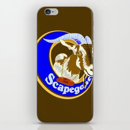 Scapegoat for Hire iPhone Skin