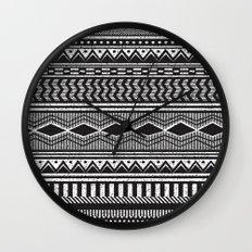 Ethnic Black Wall Clock