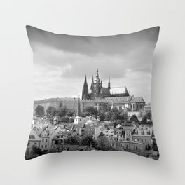 View from Charles Bridge Throw Pillow