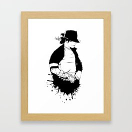 MJ - It Don't Matter Framed Art Print