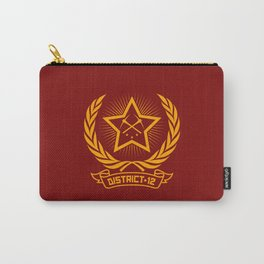 District 12 workers shirt Carry-All Pouch