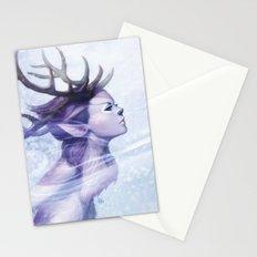 Deer Princess Stationery Cards