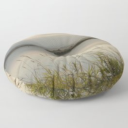 Light Falling Softly On The Marsh Floor Pillow