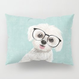 Mr Maltese Pillow Sham