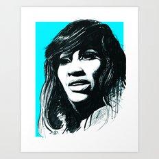 Tina Turner Art Print