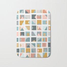 Mini Quilt Blocks Bath Mat