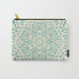 Green Pastel Unique mandala Carry-All Pouch