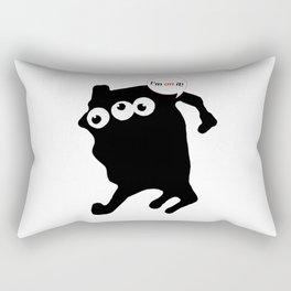 I'm on it! Rectangular Pillow