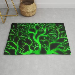 Emerald Branches Rug