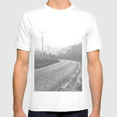 The Road Mens Fitted Tee White MEDIUM