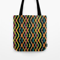 dna Tote Bags featuring DNA by Shkvarok