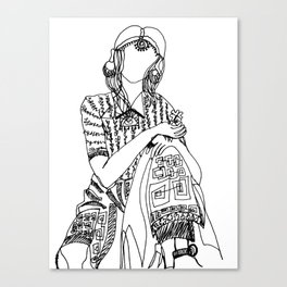 Lady Luck Canvas Print