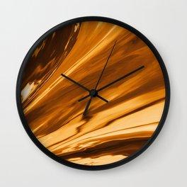Lush Coffee Wall Clock