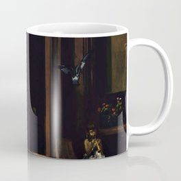 American Masterpiece 'Brownstone Front Stoop - New York' by Artist Unknown Coffee Mug