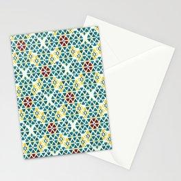 Mediterranean Rhombi Stationery Cards