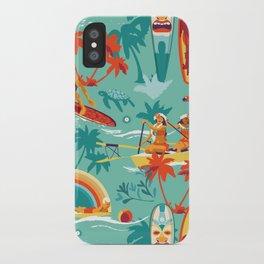 Hawaiian resort iPhone Case
