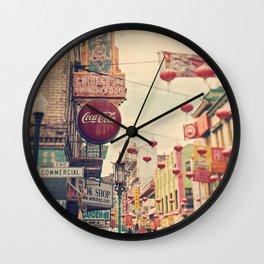 Chinatown (San Francisco) Wall Clock