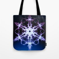 stargate Tote Bags featuring Stargate by Françoise Reina