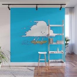 Cloud Skater Wall Mural