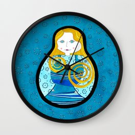 Matryoshka#1 Wall Clock