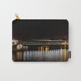 Metro on Point Bir-Hakeim at night Carry-All Pouch
